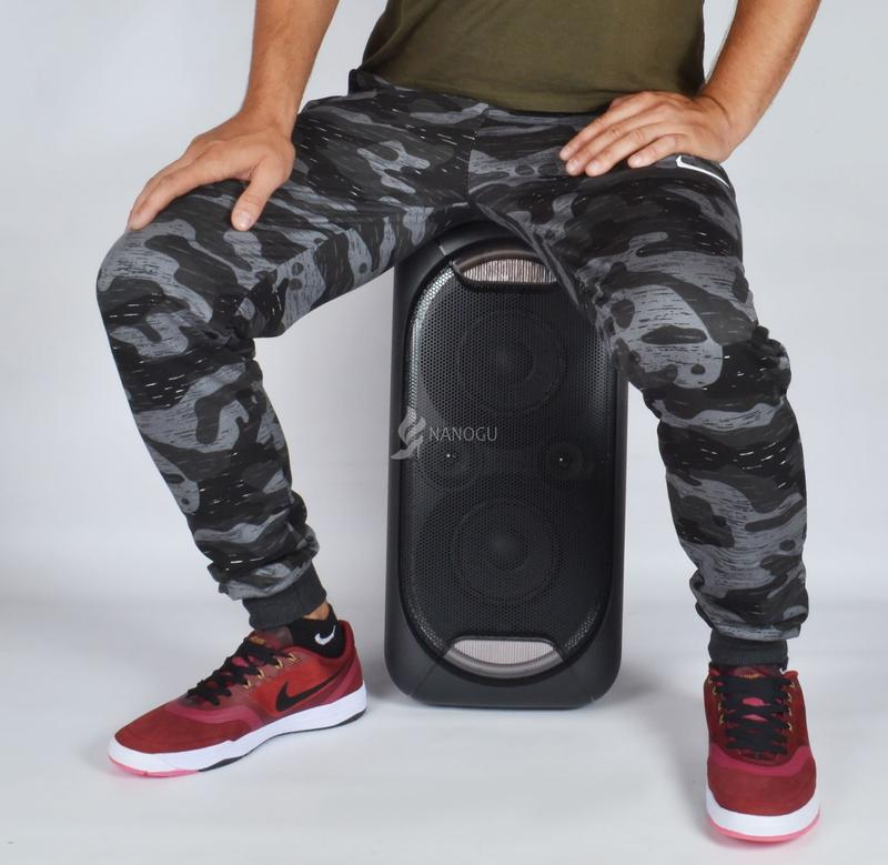 87259aac Спортивные штаны мужские камуфляж хаки черные с серым nike на манжетах1  фото ...