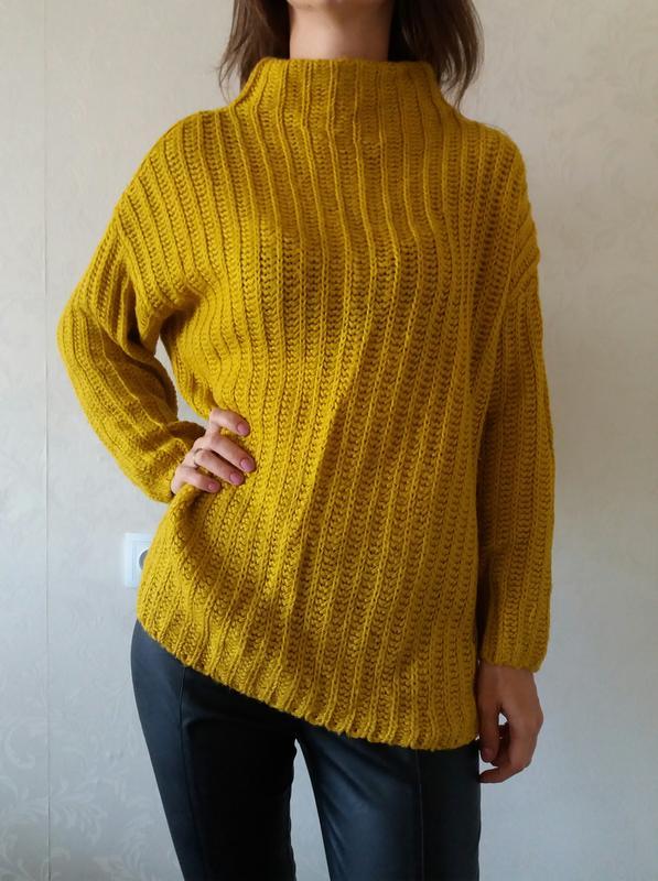 женский свитерженский гольфвязаный свитертеплый свитермодный