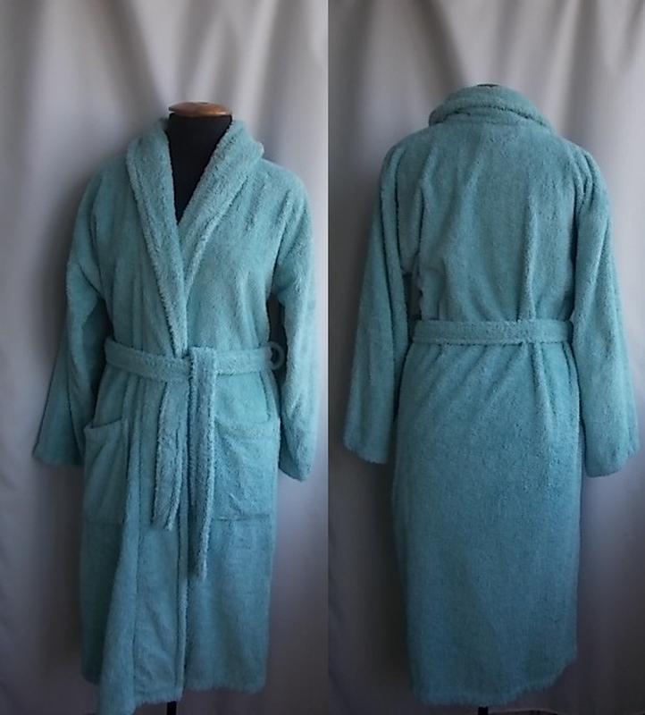 558bb3ed4ecdb Махровый халат dunelm, размер с/м, 100% хлопок, египет, цена - 200 ...
