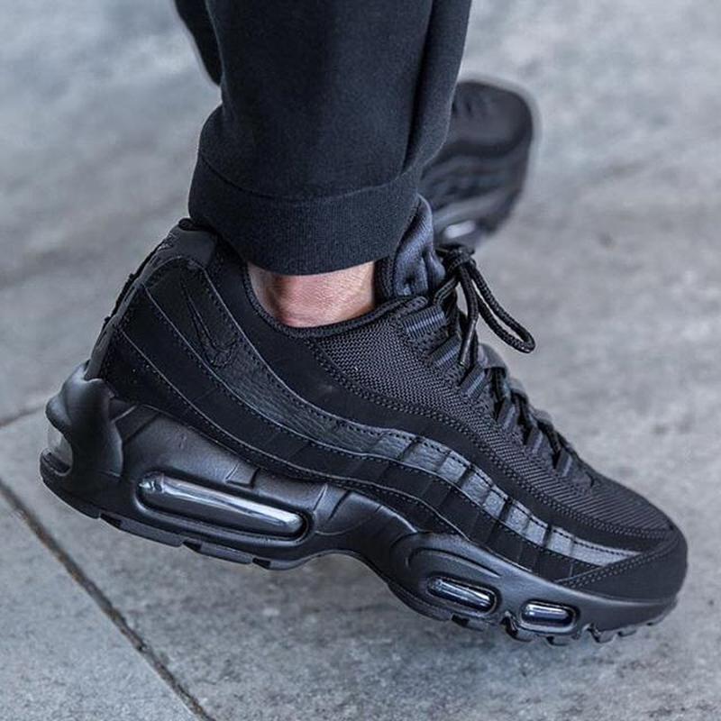 Кроссовки nike air max 95 black найк ! Nike, цена - 1299 грн ... d8d50addab7