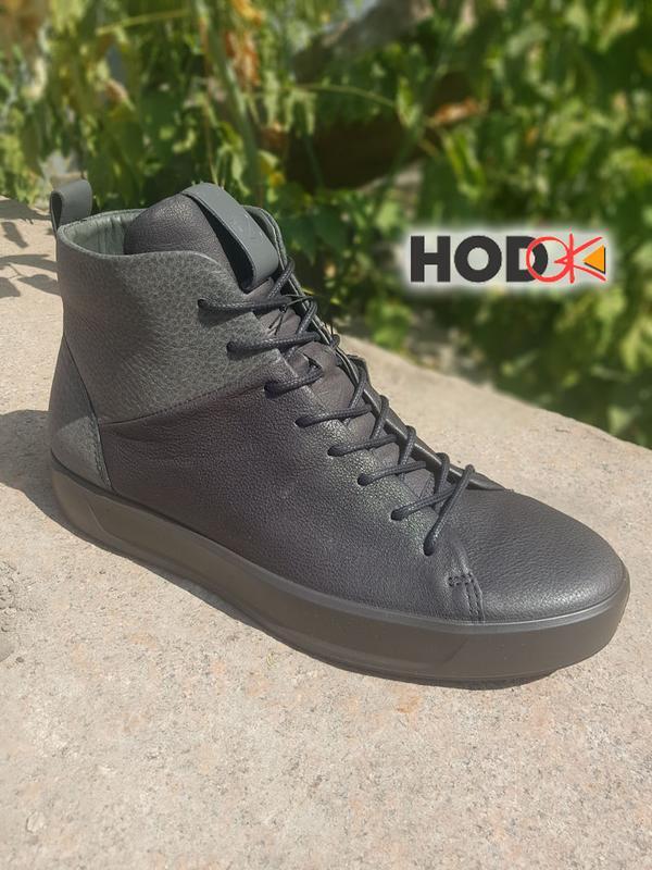 0678320c7 Осенние мужские ботинки ecco soft 8. оригинал Ecco, цена - 3700 грн ...