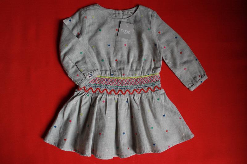 27234f18062 Платье next для девочки 1-2 года(на бирке 1-1.5года