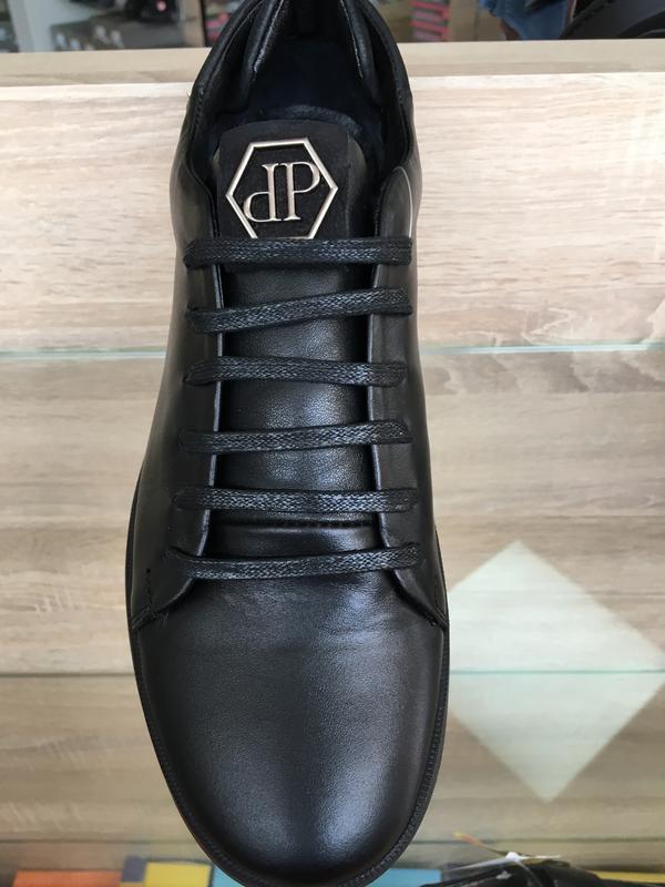 7b29ca31fb31d Philipp plein мужские туфли кроссовки чёрные кожа размер 43 Philipp ...