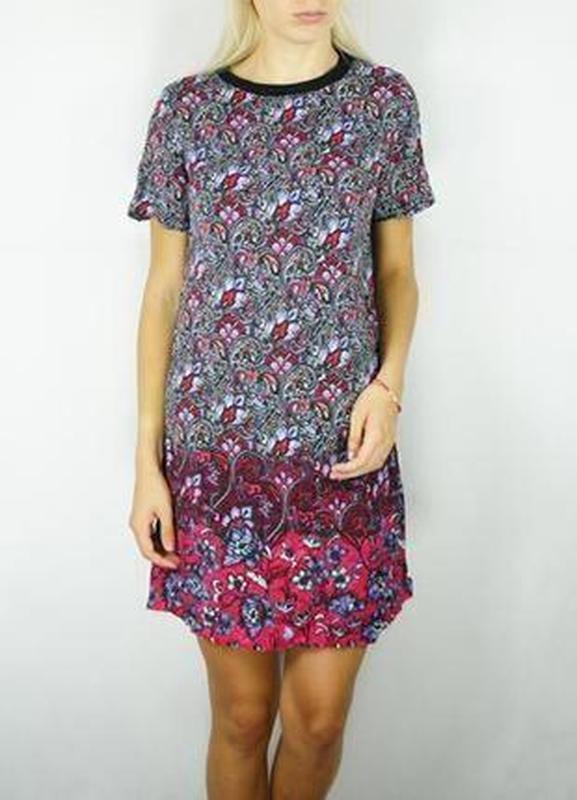 Милое градиентное платье в цветочный принт new look New Look f3f1e1a10b043