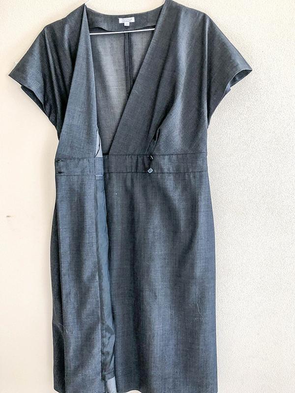 f4364ce1846 Красивое офисное платье-сарафан solar с запахом1 фото ...