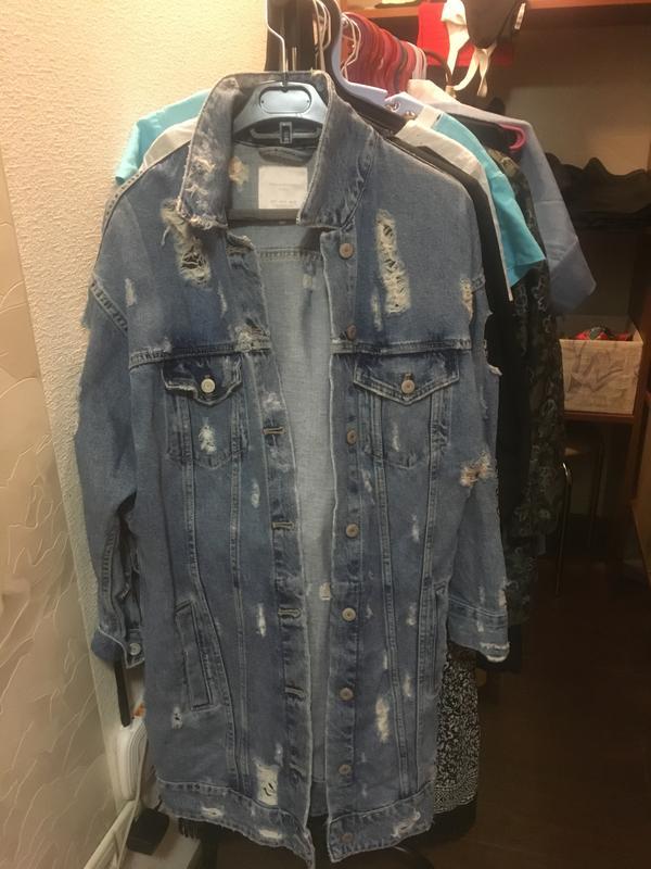 29dd093e Джинсовая куртка zara, цена - 1000 грн, #15476883, купить по ...