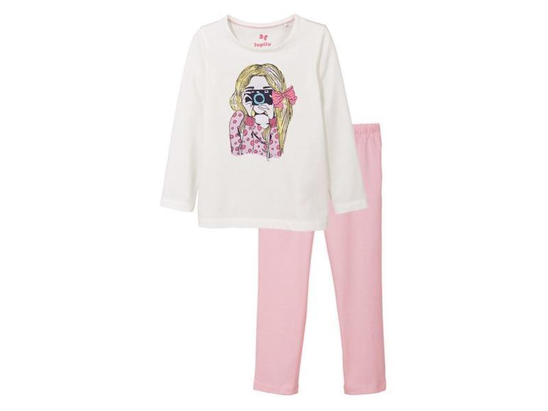 a0ec232ef1e2 Акція! lupilu® піжама для дівчаток, р. 86/92, 98/104, 110/116 Lupilu ...