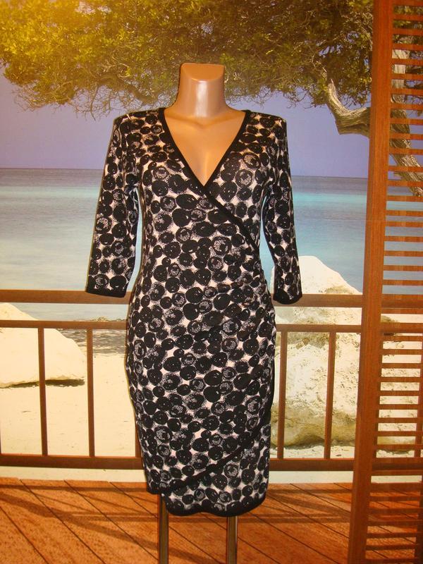 730deb2c4b4 Шикарное теплое платье из плотного трикотажа р.8-10 Phase Eight ...
