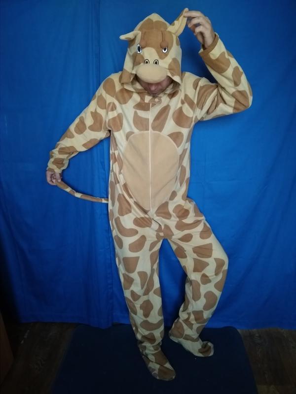 Пижама кигуруми жираф d54f9a2af18f9