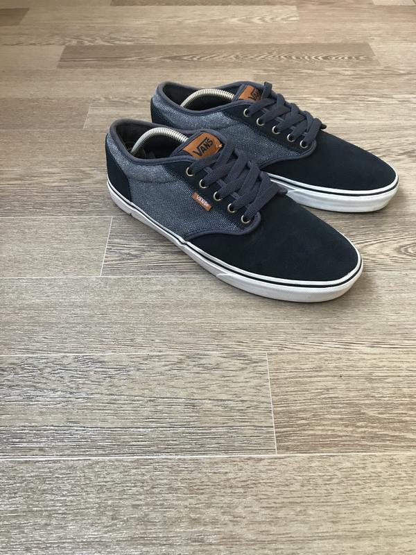 Кожаные кроссовки кеды vans 43-43,5 р 28,5 см вся стелька Vans, цена ... 517590aa45f
