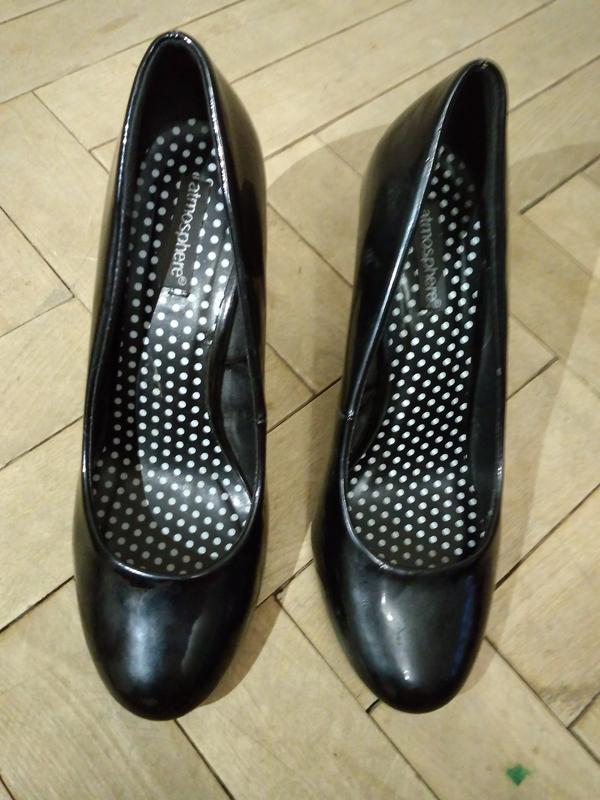 Лакові чорні туфлі Atmosphere 912b5b4235c6a