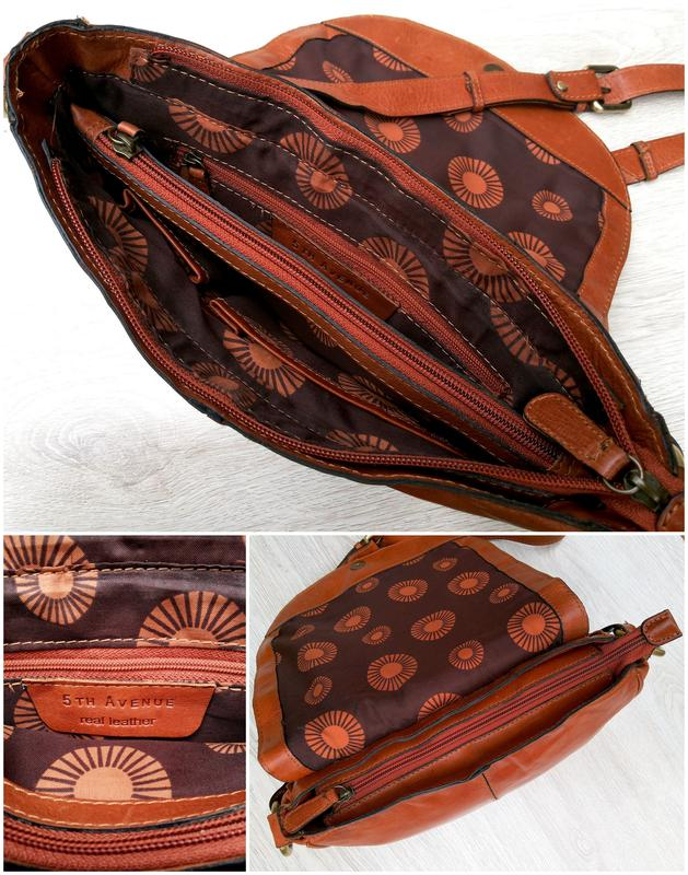 5295dc683927 5th avenue кожаная сумка кросс боди 5th Avenue, цена - 650 грн ...