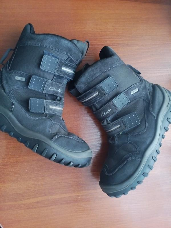 Сапоги clarks gore-tex 34-35 р 22 см термо сапожки ботинки Clarks ... 7f040a55b7c87