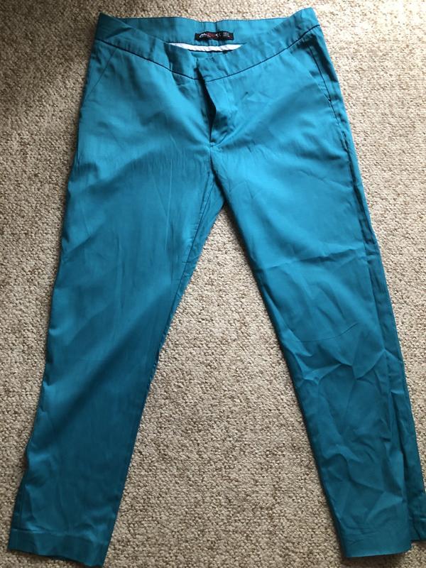 брюки с боковыми карманами 7