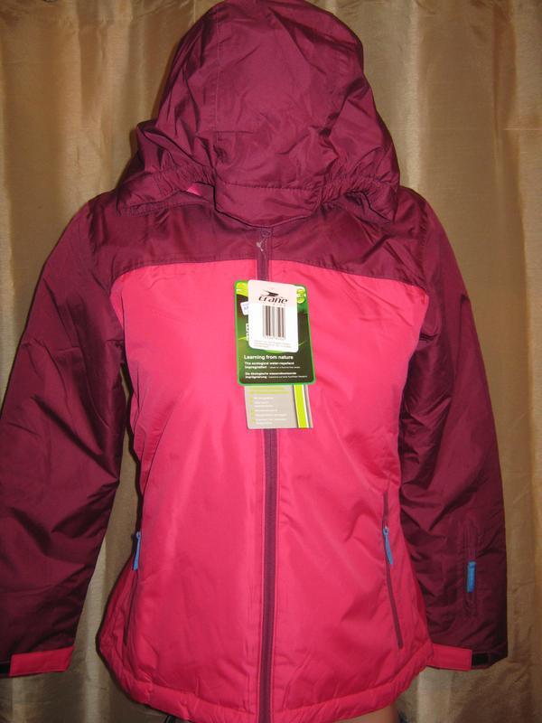 Зимняя (лыжная) куртка для девочки, р.122-128 см, новая германия ... d6a35ca67fb