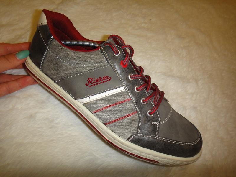 Оригинальные мужские кроссовки кеды rieker р. 42-43 стелька 28 германи1 ... c2fe5b3d91522