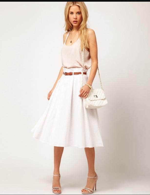 Белая юбка киев