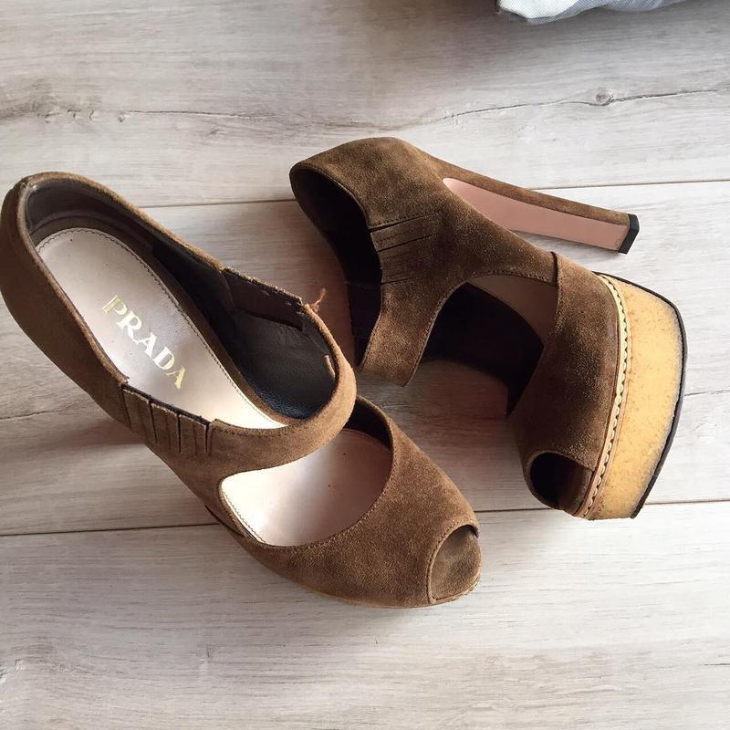 Туфли  prada  Prada, цена - 1500 грн,  15645634, купить по доступной ... 4f427c7dc90