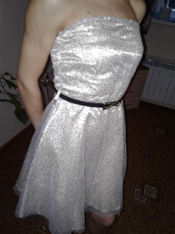 Плаття коктельне xs-s. шампань в паєтках. Tammy 339cab1f11acf