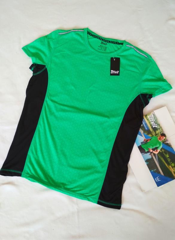 ad7eb966 Спортивная мужская футболка, майка для спорта, бега, зала Crivit ...