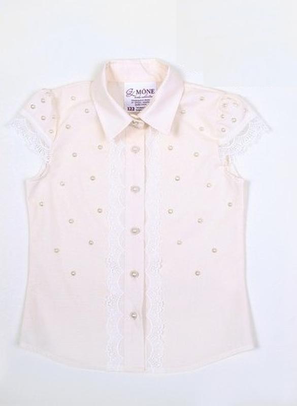 Блуза для девочки 1550-1 mone рост 122 Mone 0c06e5eba795c