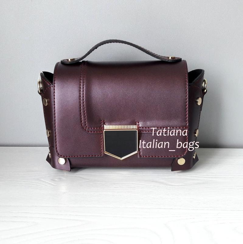 7ccf63e107c8 Крутая кожаная сумка сундучок, новинка. италия Италия, цена - 1240 ...