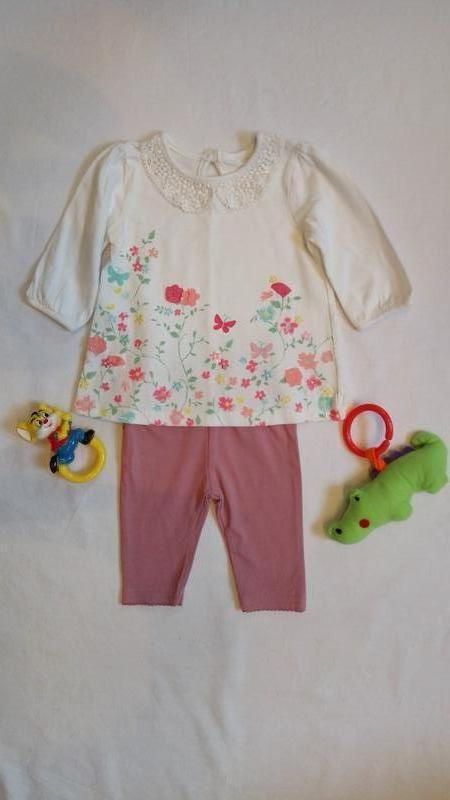 Комплект на девочку костюм для девочки туника+лосины George, цена ... 1989721e8ef