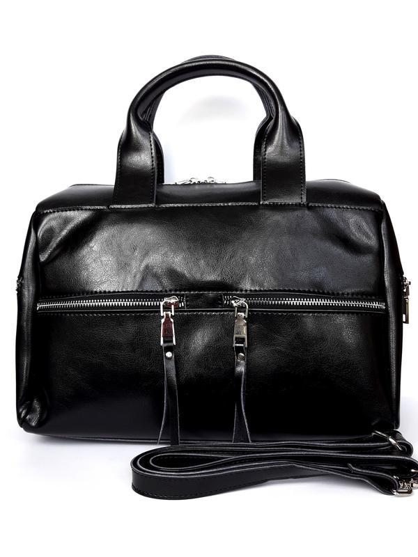 38ea5f65c416 Женская кожаная сумка-саквояж