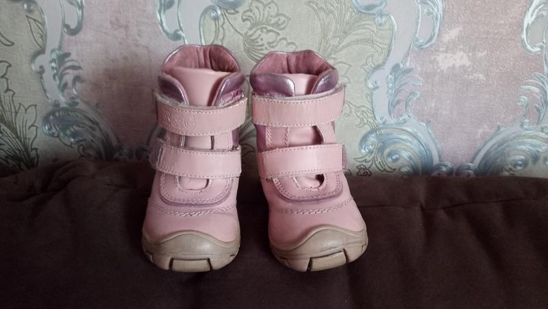 Зимові чобітки b g 21 р. на дівчинку. зимние сапожки1 ... e45eb0af56f4b