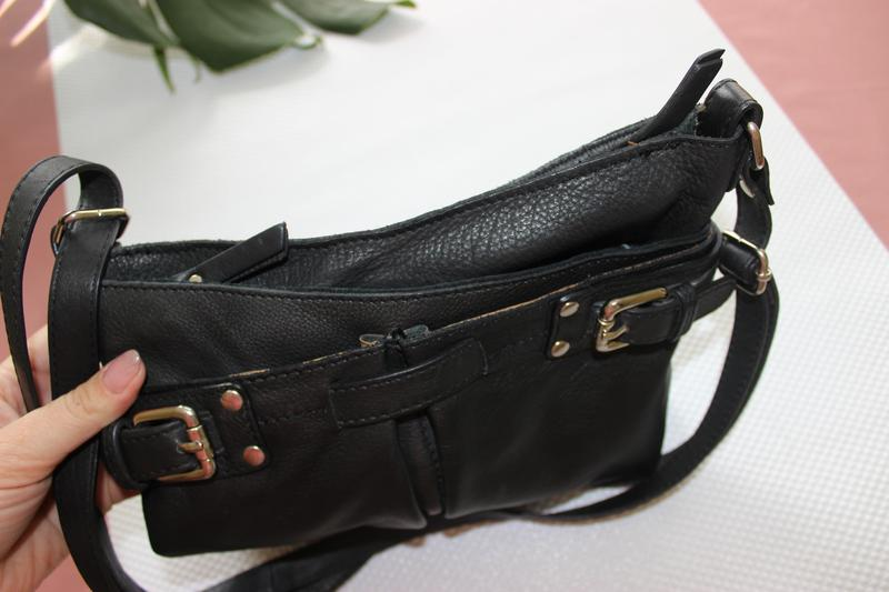 d542a8efdd6e ... 25х27см 5th avenue кожаная сумка через плечо, кросс-боди сумочка на  ремешке2 фото ...