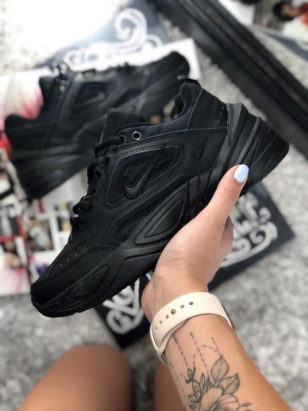 65b435e6 Шикарные кроссовки nike m2k tekno black (женские/ мужские, унисекс)1 фото  ...