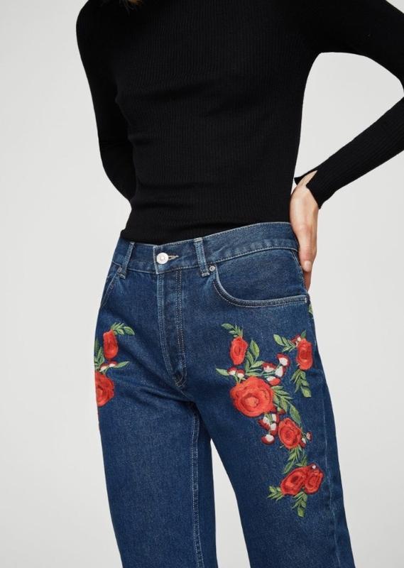 Крутячі джинси на високій талії Mango a4b286d80984f