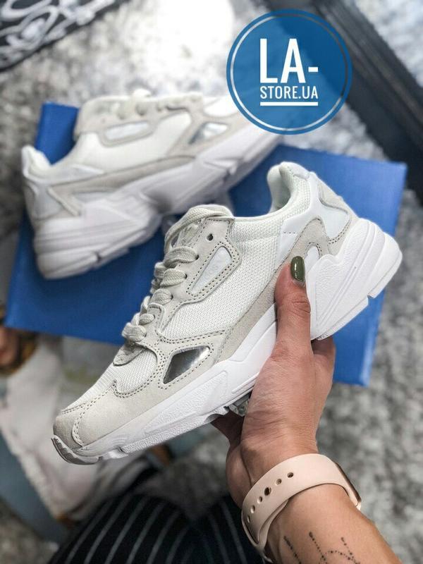 b3edb0cbf Шикарные кроссовки adidas falcon white/beige унисекс (мужские/ женские)1  фото ...