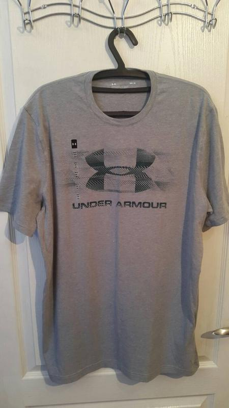 Серая футболка under armour оригинал из сша Under Armour 7eaa13fbc624f