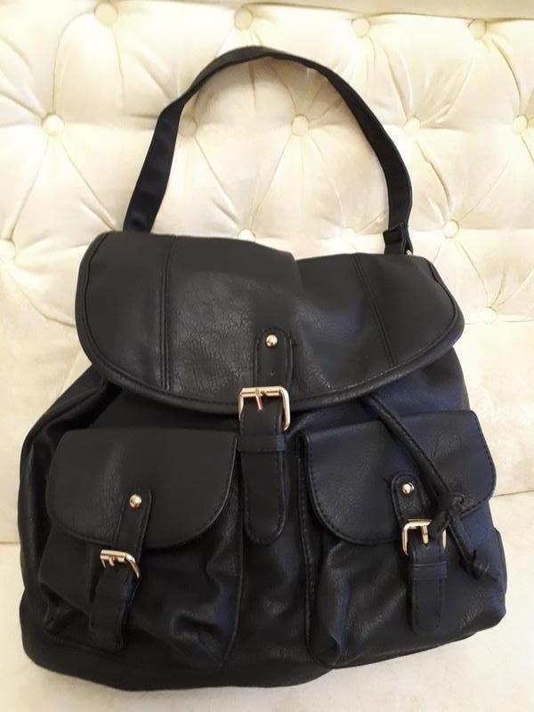6273302e7905 Молодежная стильная сумка в виде рюкзака atmosphere испания новая черная1  ...