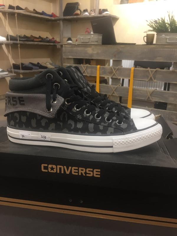Чоловічі високі кеди converse all star Converse 7d5b73f09624d