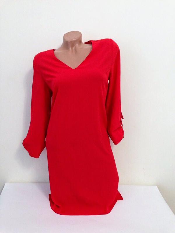 dbb94b0ed9e Ярко-красное платье прямое Atmosphere