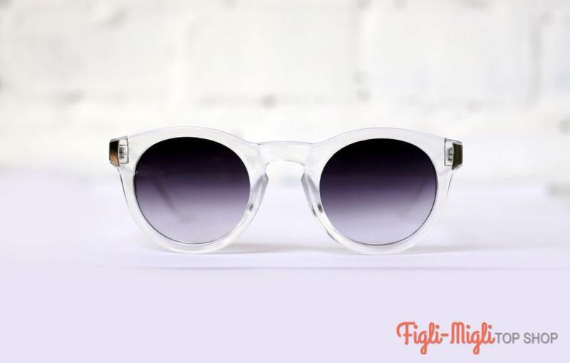 Солнцезащитные очки с прозрачной оправой