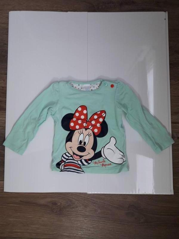 Реглан джемпер свитшот кофта mickey mouse disney 74 см Disney d200ceb72f2c3