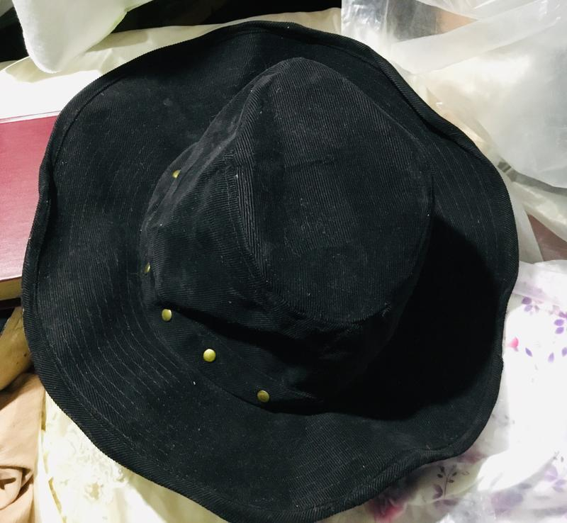 Ковбойская черная шляпа ретро стиль готика классика ZARA a7621ce016a72