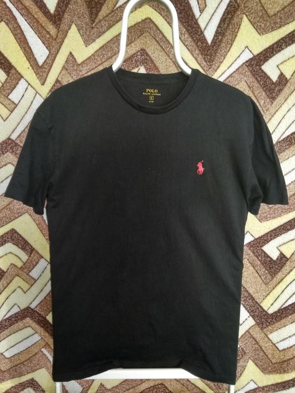 Футболка ralph lauren черная новые коллекции Ralph Lauren 85a403d57e167