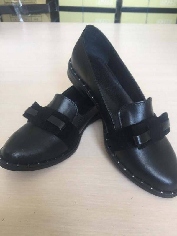 651029d47 Женские туфли с бантиком натуральная кожа все размеры в наличии ...