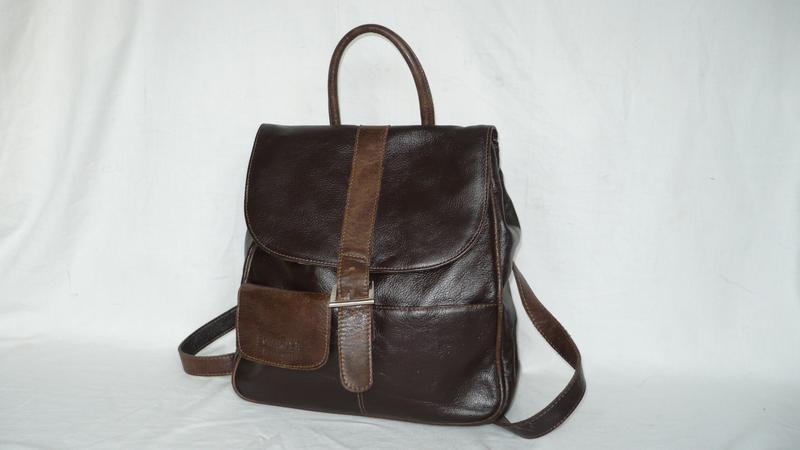 4b8775cb1d96 Botanope fashion club стильный вместительный кожаный городской рюкзак  сумка1 фото ...