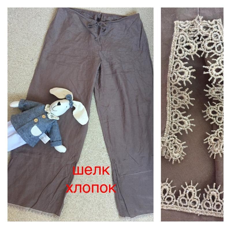 19555997265 Нежные шелковые брюки шелковые штаны шелковая пижама натуральный шелк1 ...