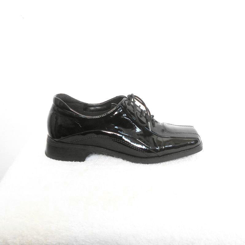 d339ddf12745 Черные классические лаковые осенние туфли на шнуровке carina, цена ...