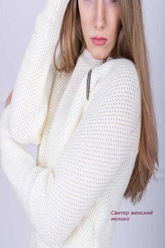 женский вязаный свитер арт815 цена 280 грн 15882486 купить по