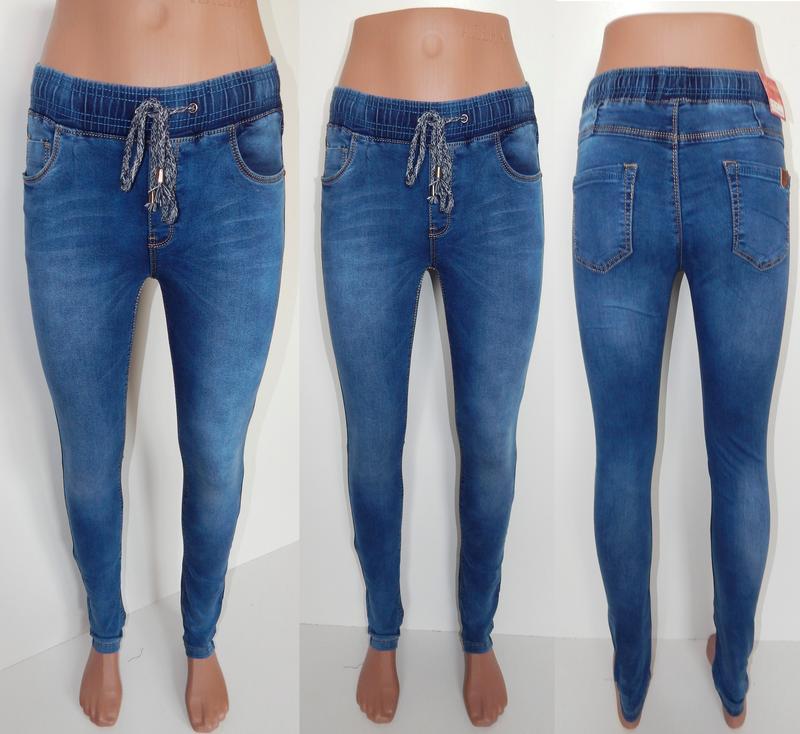 dc6b1714479e Женские джинсы на резинке ( джеггинсы) за 430 грн. | Шафа