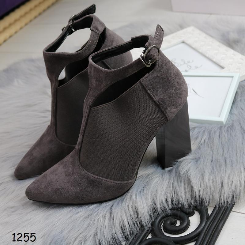 Демисезонные женские ботинки на каблуке, цена - 530 грн,  15924519 ... 83cd7598d36
