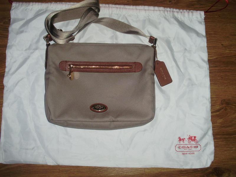 Coach new york ( philippines) сумка через плечо Coach, цена - 700 ... 068facd8168