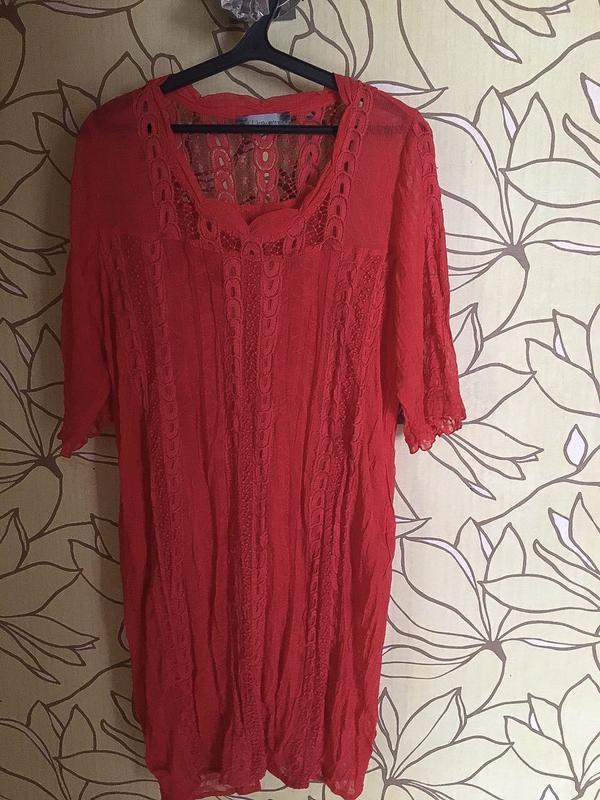 c4d199b238d Красивое красное платье большого размера1 ...